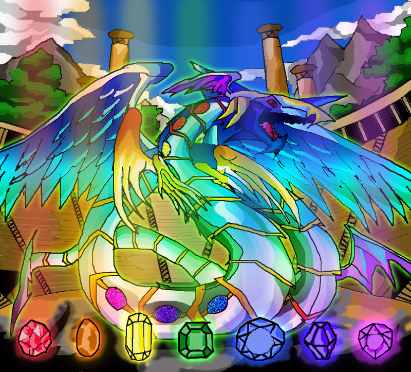 big rainbow dragon wallpaper - photo #9