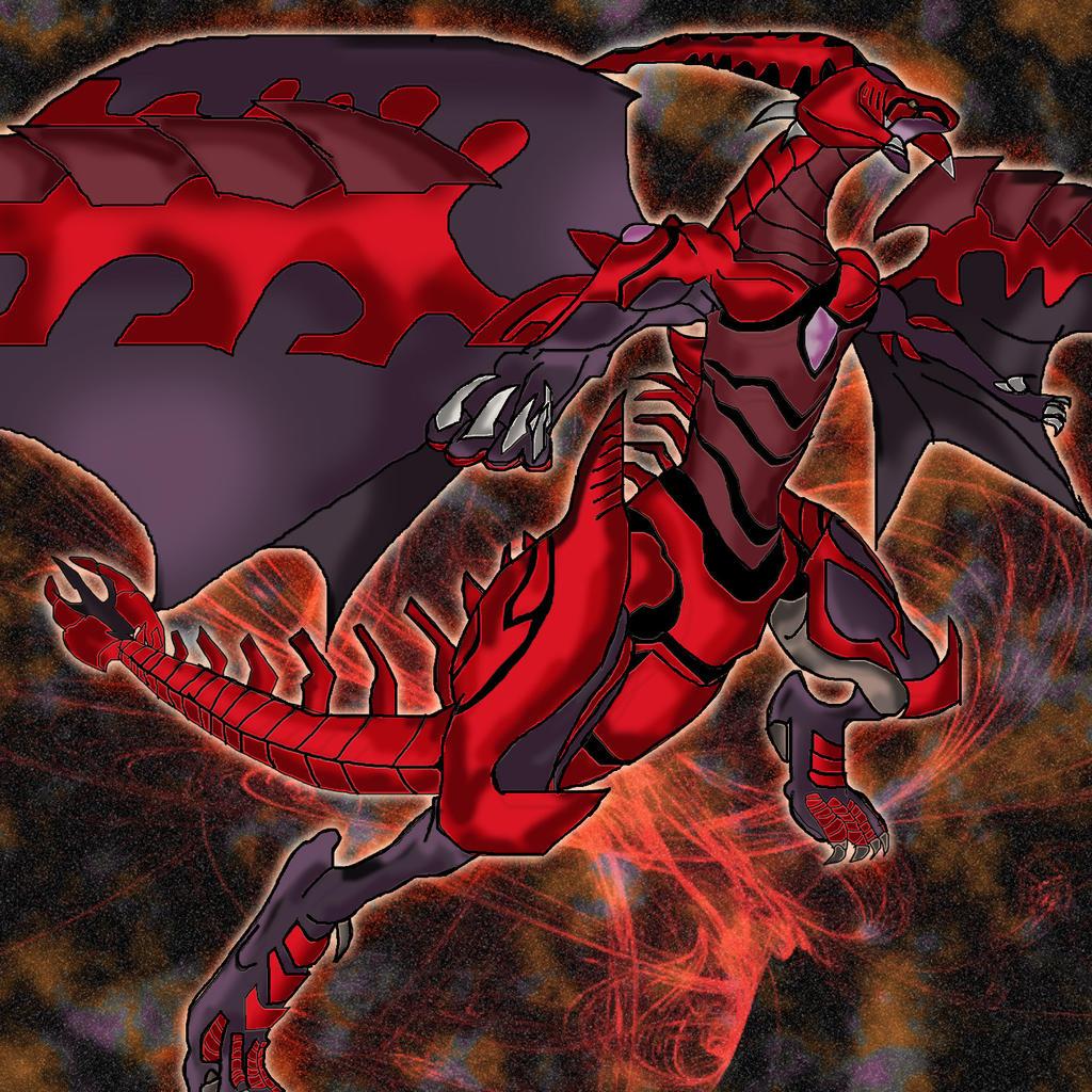 Red Nova Dragon Wallpaper Burning Soul- R...