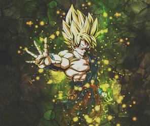 Goku by BrunoWC