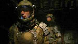 Space Soldiers in Jail (gay sex scene)(sci-fi)