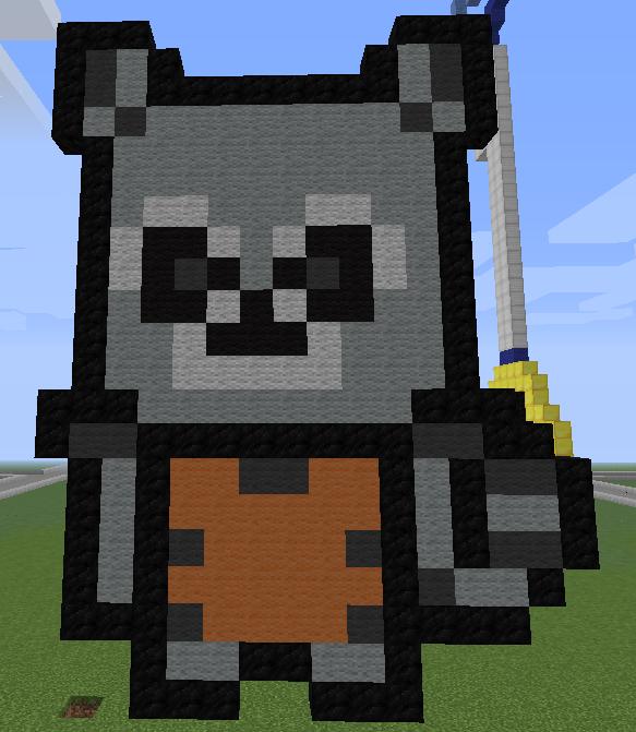 Rocket Raccoon Pixel Art By DaxtotheMax479 On DeviantArt