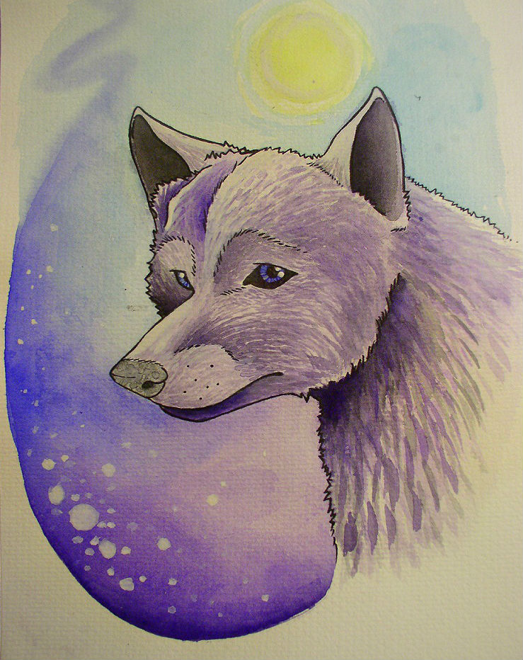 Wolf by BrittanyLovesPeanut