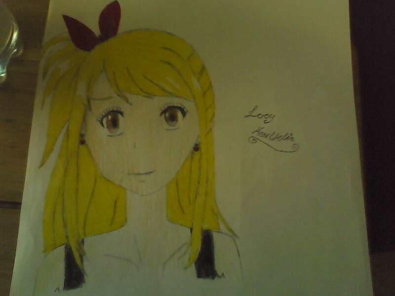 I drew Lucy!Xx by ThePurpleNinjah