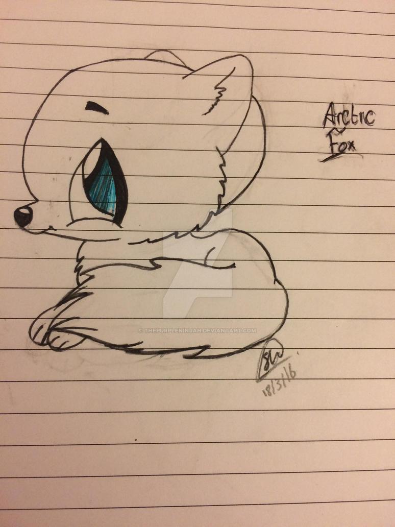 Arctic Fox! by ThePurpleNinjah
