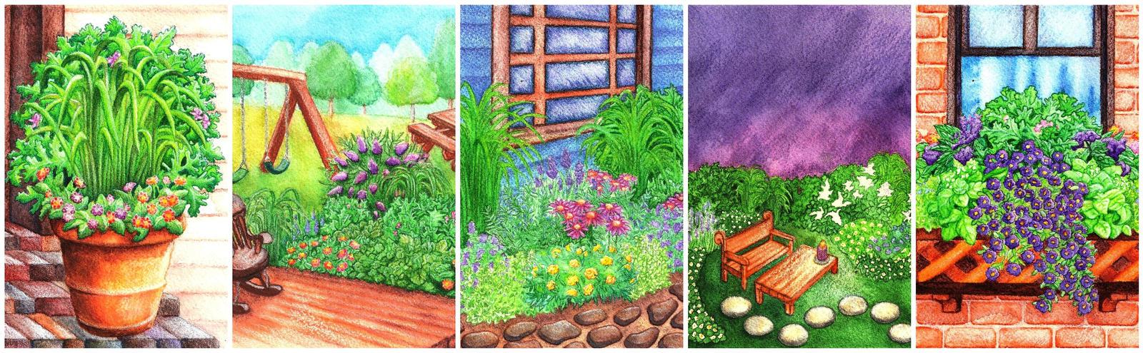 Garden Quintet by LivMyers