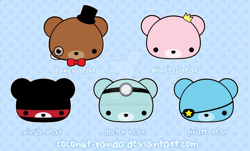 It's a Bear Affair by Coconut-Panda