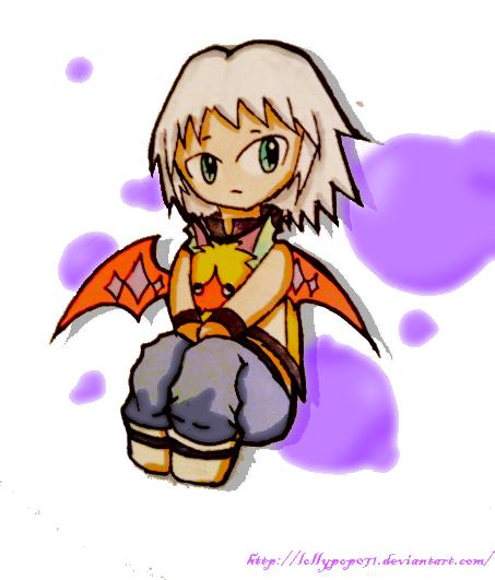 Riku DDD Chibi by lollypop071