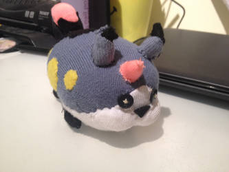 Meow Wow - Tsum Tsum Sock plushie by lollypop071