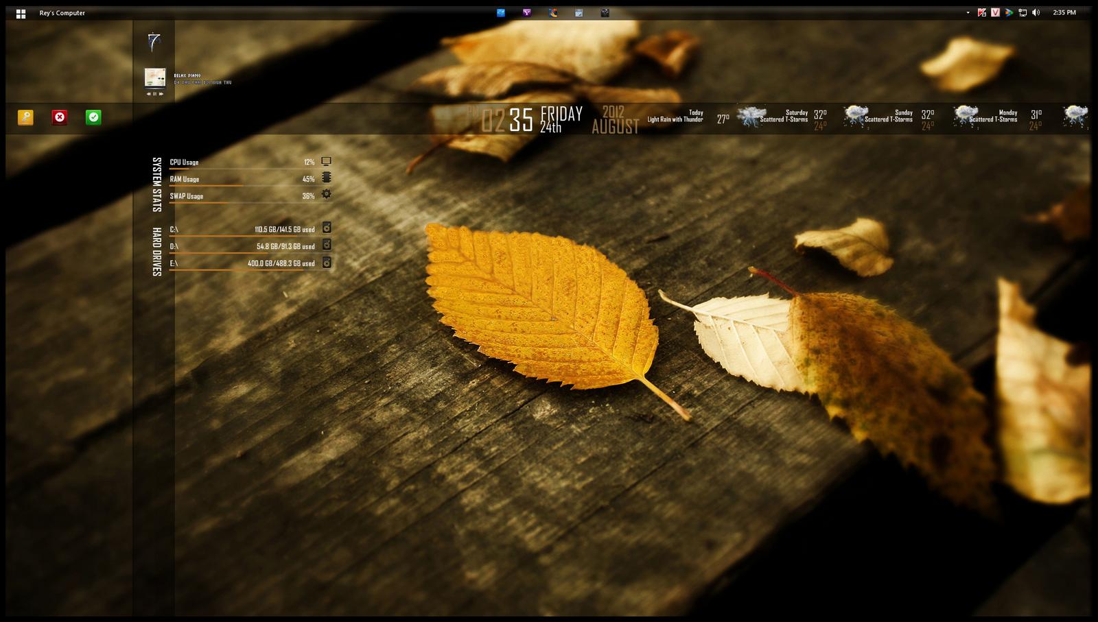 Golden Leaf by Reydragon