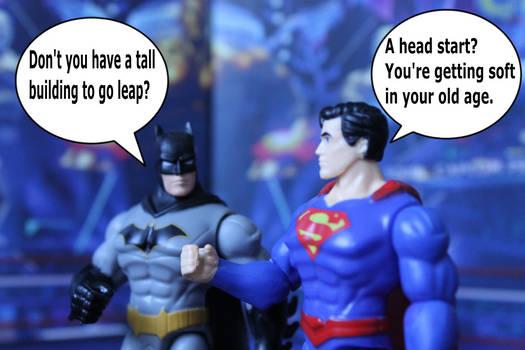 Batman And Superman Action Figures: A Head Start?