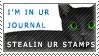 Stealin' Ur Stamps Stamp by luceskywalker