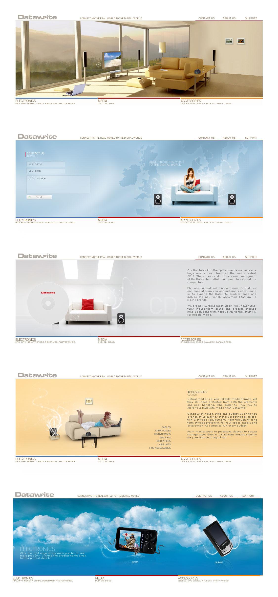DW Website by 9gods