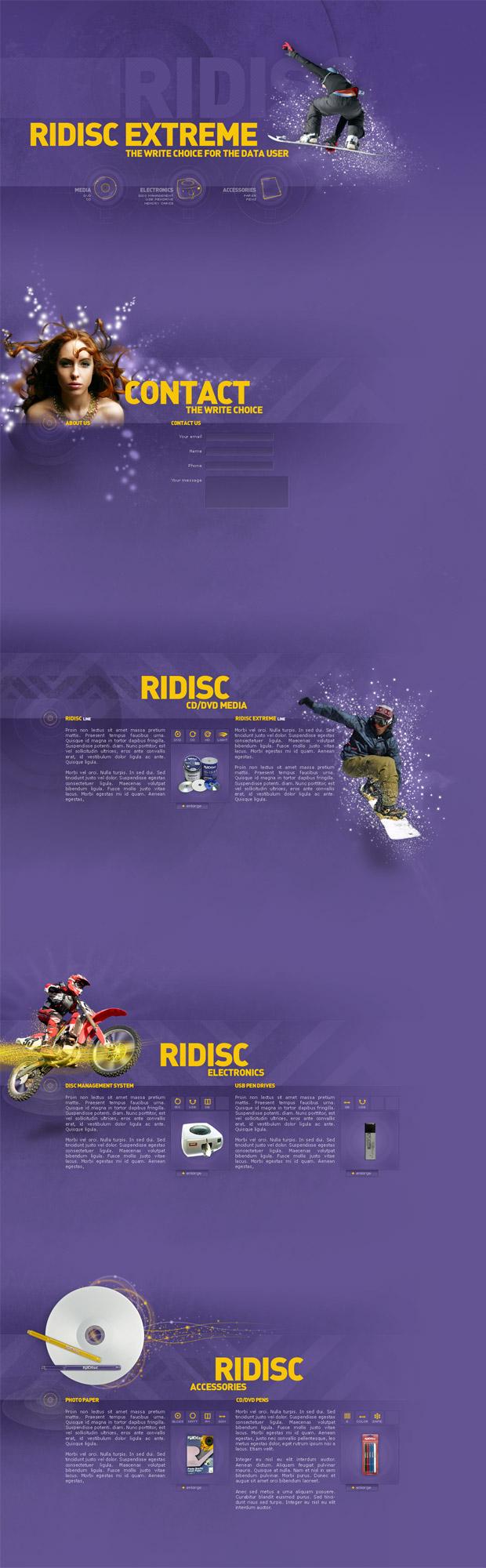 Ridisc: layout by 9gods
