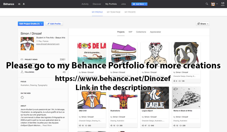how to create a behance portfolio