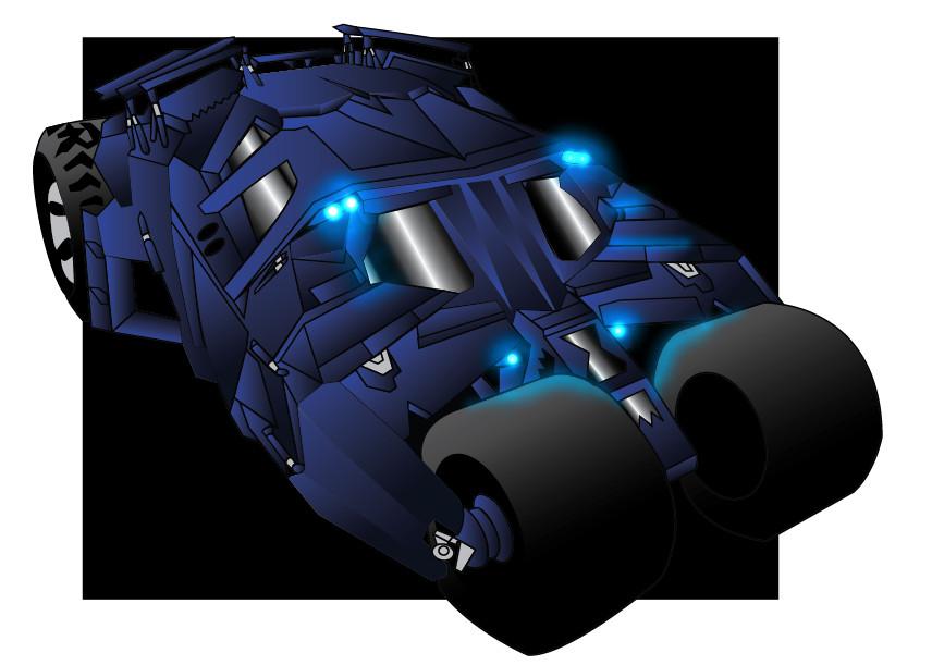 The Batmobile by SamTodhunter
