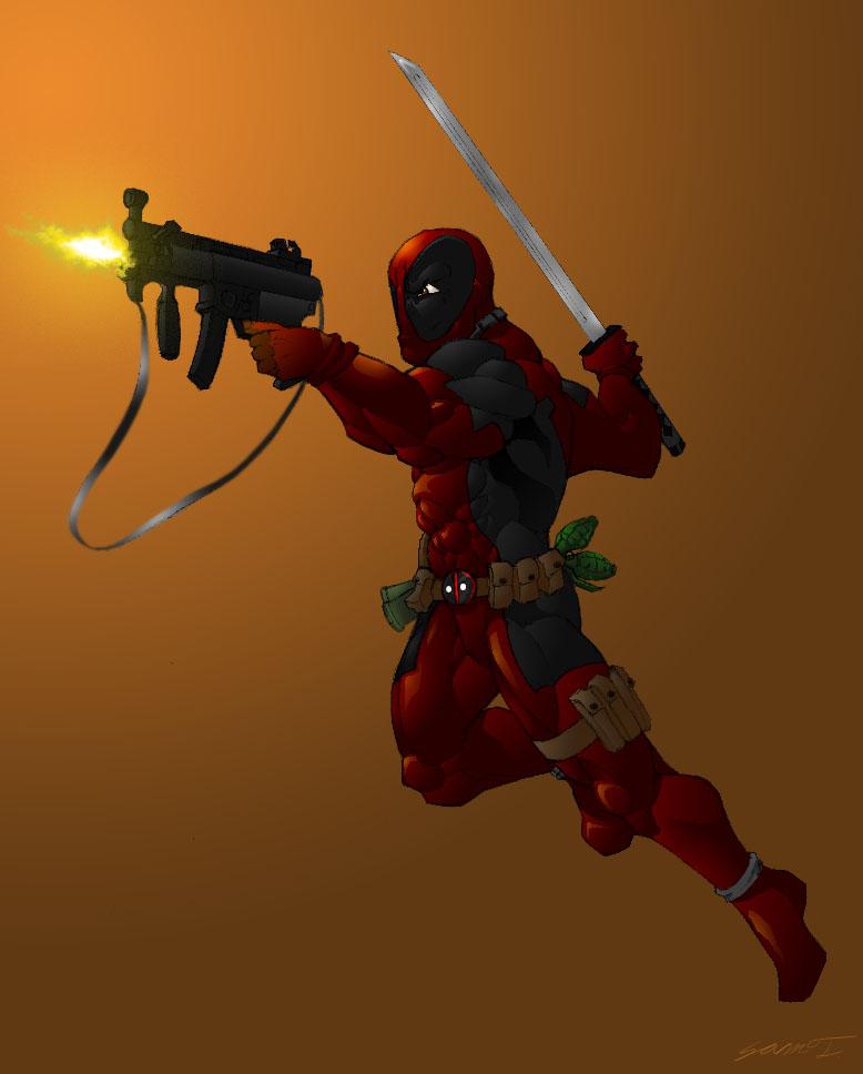 Deadpool by SamTodhunter