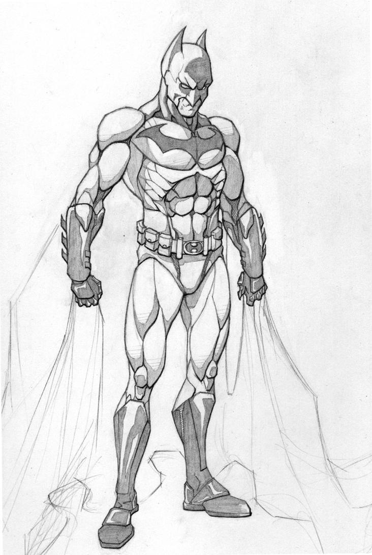 Batman Redesign by SamTodhunter