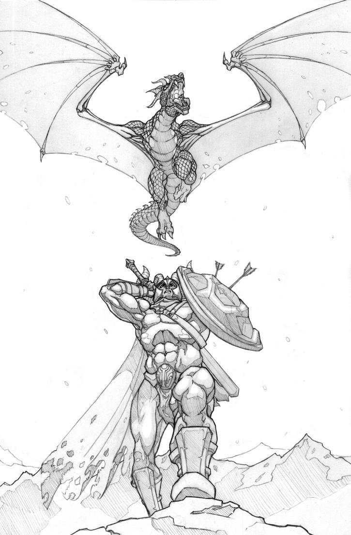 Dragon Warrior by SamTodhunter