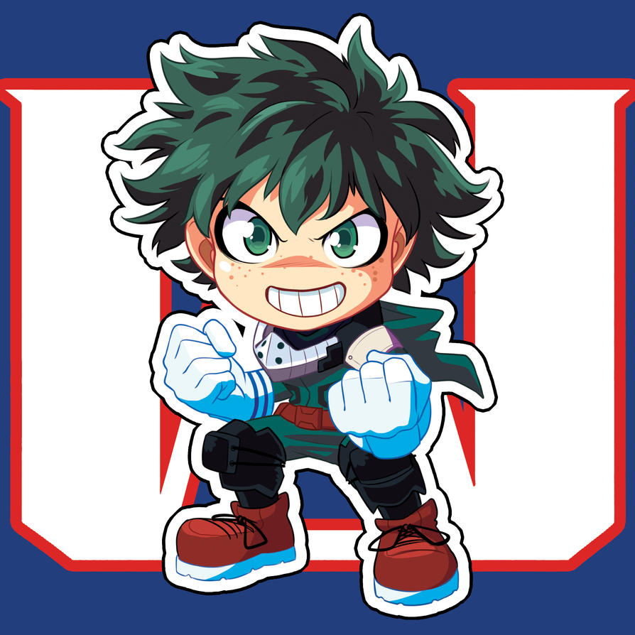 Chibi Deku By Axt234 On DeviantArt