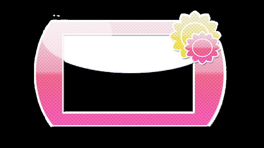 Pink Polka Dot Sun Border By KawaieCrepe