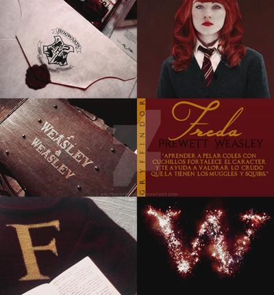 Aesthetic~ Freda Weasley by OnlyException24