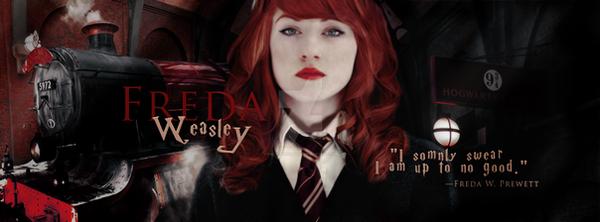 Freda Weasley~ Gendersawp by OnlyException24