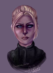 Cassie Cage  speed paint