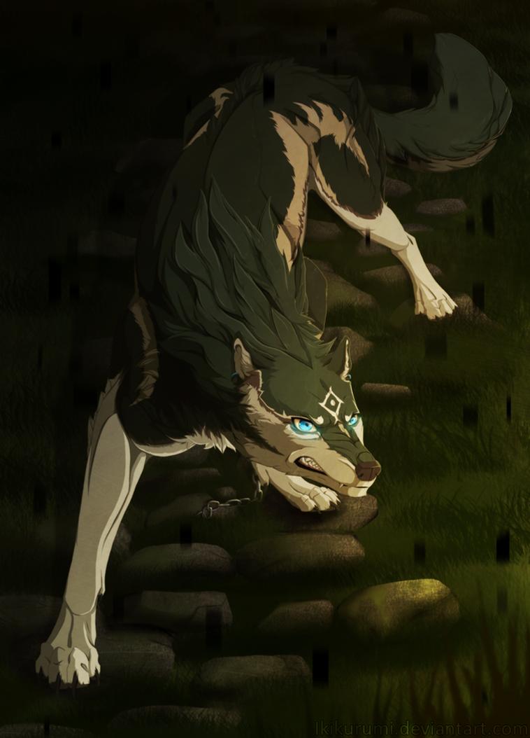 Blue Eyed Beast of Twilight by Ikikurumi