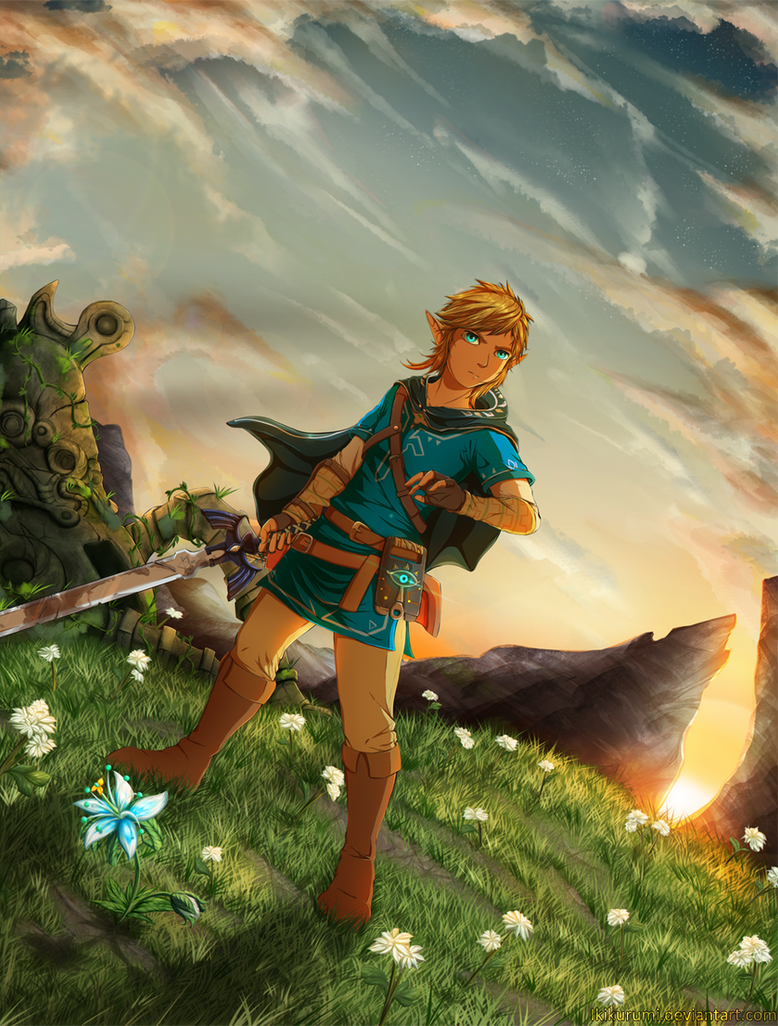 It's just a graphic of Versatile Breath Of The Wild Drawing
