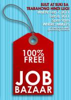 Job Bazaar Poster ver.2 by souperdana