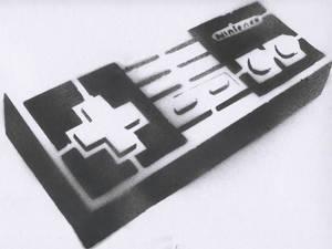 Nes Controler Stencil