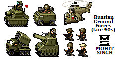 Russian Ground Forces -Sprites