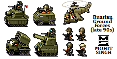 Russian Ground Forces -Sprites by smojoe2k5