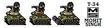 T-34 Tank -Sprites by smojoe2k5