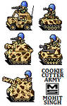 Cookie Cutter Army - Sprites