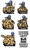 Cookie Cutter Army - Sprites by smojoe2k5