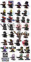 Character Sets - Sprites