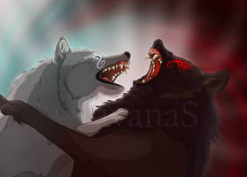 Skoll vs. Hati: My Brother by LivanaS