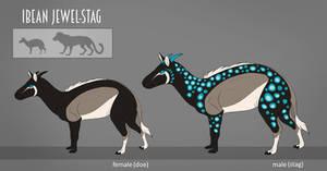 Ibea Animal - Ibean Jewel-Stag by LivanaS