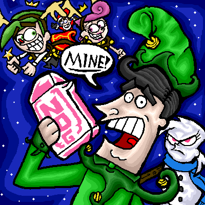 a fairly odd christmas by nitro echidna - Fairly Oddparents Christmas