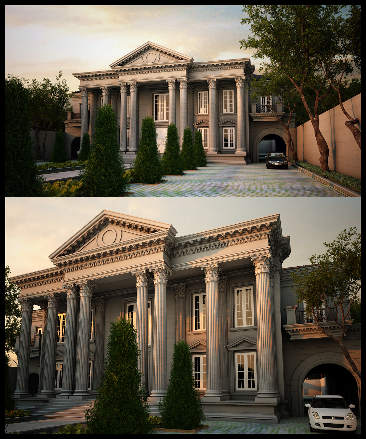 Classic house 39 bali 39 by neellss on deviantart for Classical house