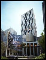Cellular Office Building