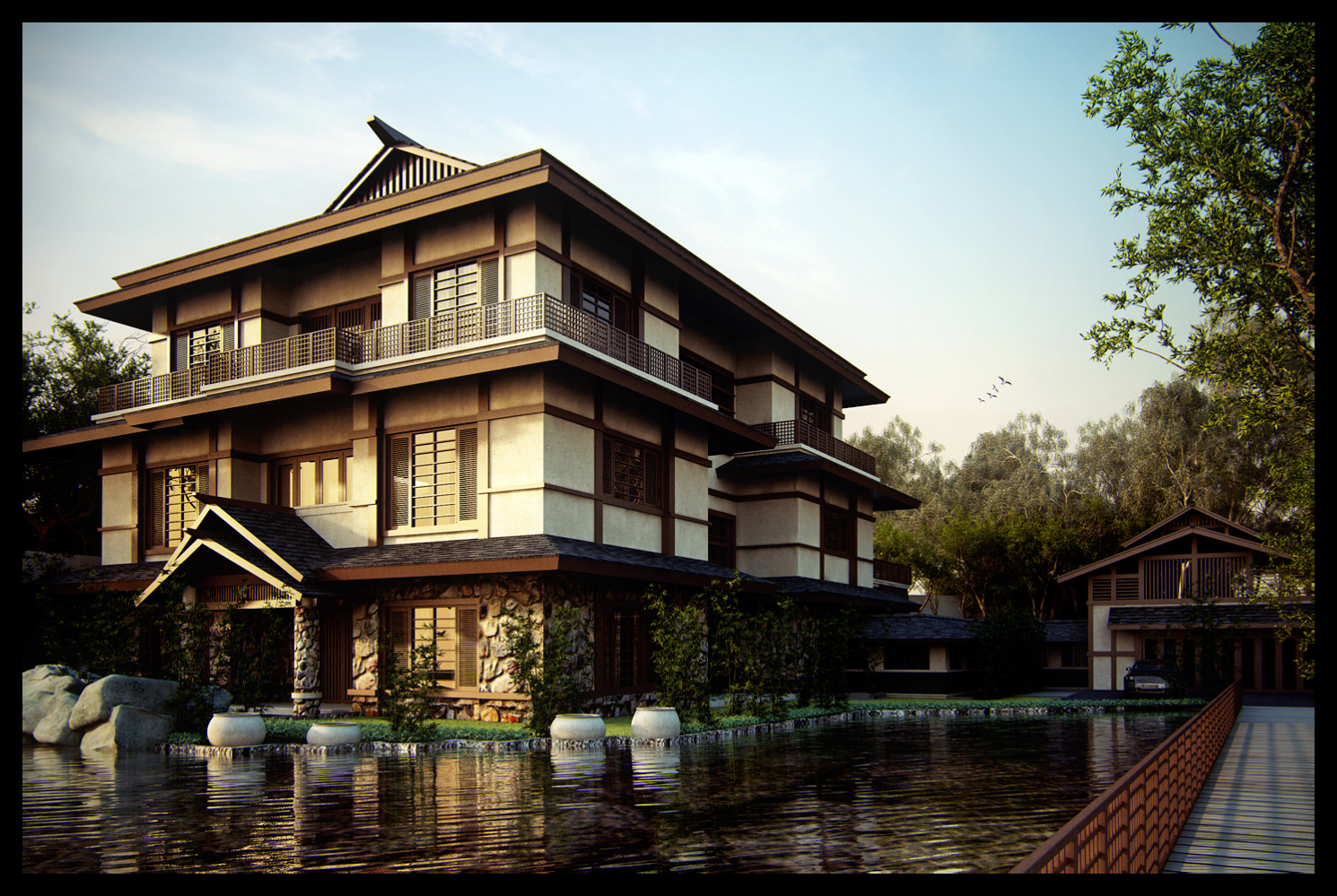 Japanese House By Neellss On Deviantart