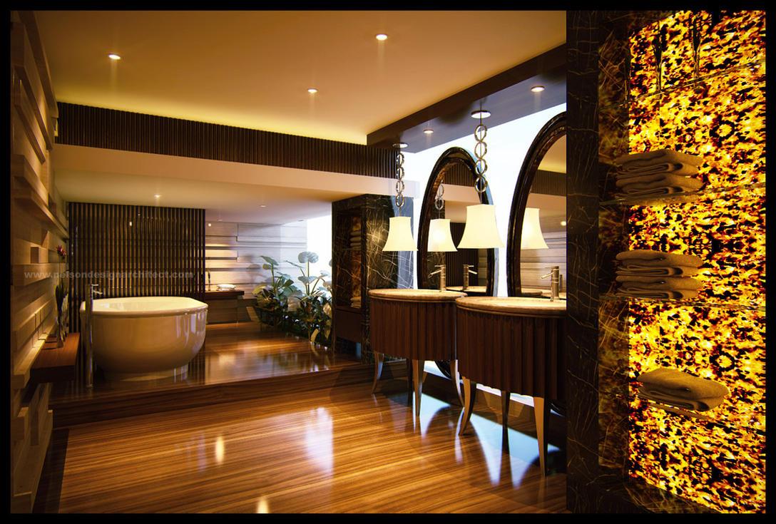 Bath Room 01 by Neellss