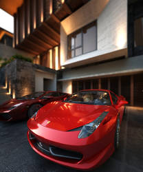 Sexy red 458 by Neellss