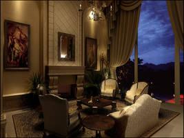 sitting room by Neellss