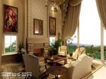 sitting room - day