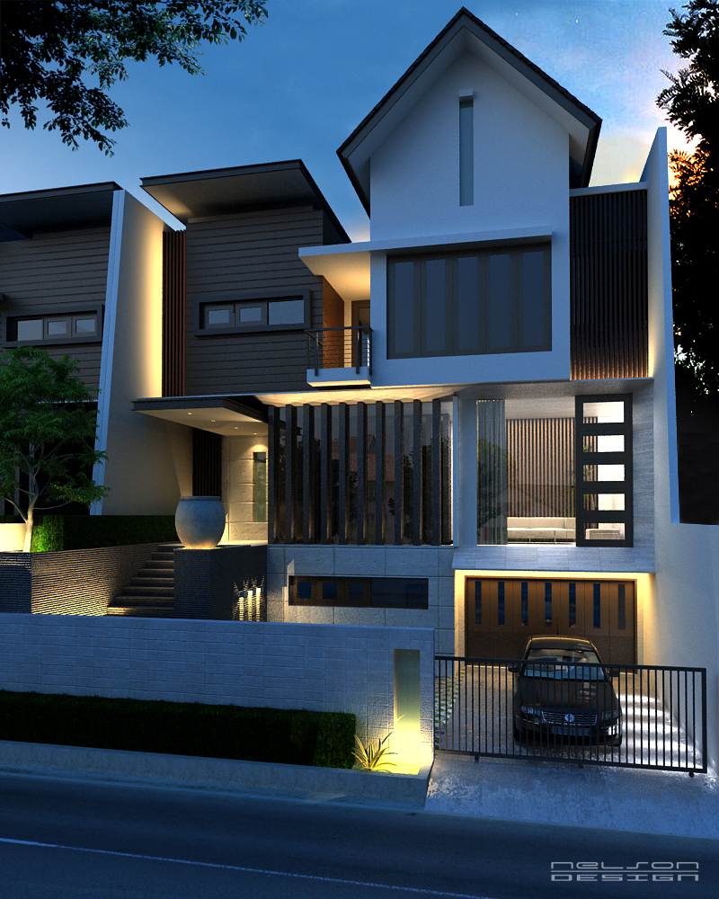 25 Modern Home Exteriors Design Ideas: Latest Exterior Design By Neellss On DeviantArt