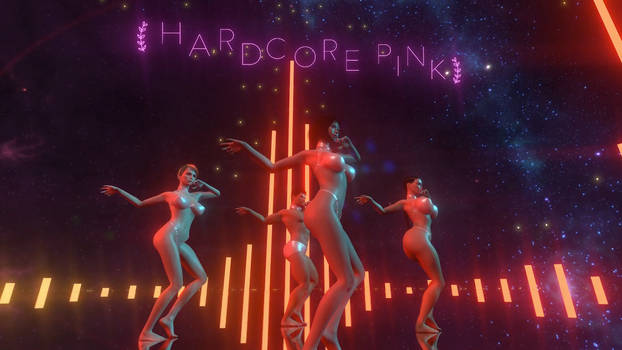 Hardcore Pink VR - Dance Scene