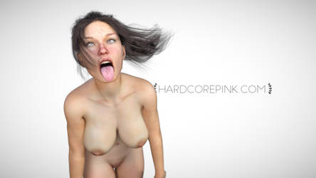 Hardcore Pink - Thick girl - Ahegao by hardcorepink